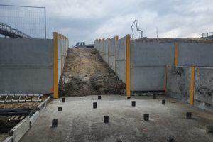 Wzmocnienie gruntu po wykonaniu betonu niekonstrukcyjnego.